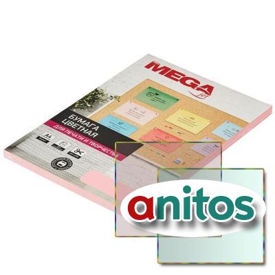 Бумага цветная ProMEGA микс (интенсив) 80г, А4, 100 листов - купить для офиса и дома
