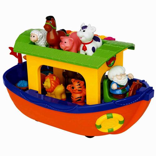 Ноев ковчег Kiddieland - видео обзор развивающей игрушки Киддиленд от ugra.ru - YouTube