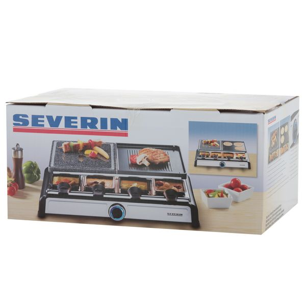 SEVERIN RG 2682 - RACLETTE GRIL Grill User manual manual PDF View/Download
