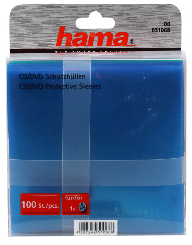 Конверт Hama на 1CD/DVD H-51068 оптом