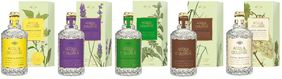 4711 Acqua Colonia collection ~ new fragrances :: Now Smell This