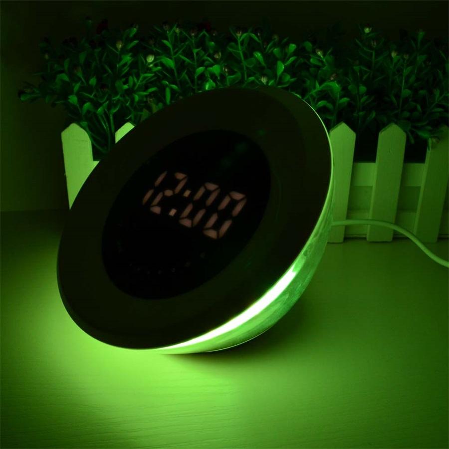 будильник с подсветкой замеденной
