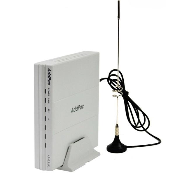 AddPac AP-GS1004B — VoIP-GSM шлюз, 4 GSM канала, SIP & H.323, CallBack, SMS. Порты 4хFXS, Ethernet 2x10/100 - официальный сайт AddPac в России