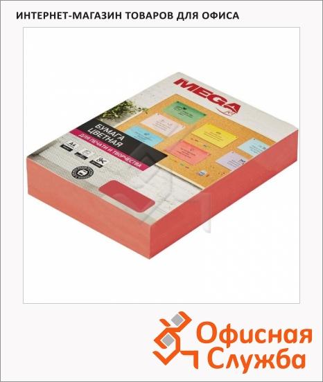 Бумага цветная ProMEGA (оранж. интенсив) 80г, А4, 500 листов - Yoza