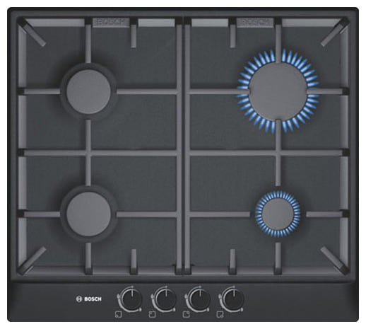 Обзор: Газовая варочная панель Bosch PCP6A6B90 - YouTube