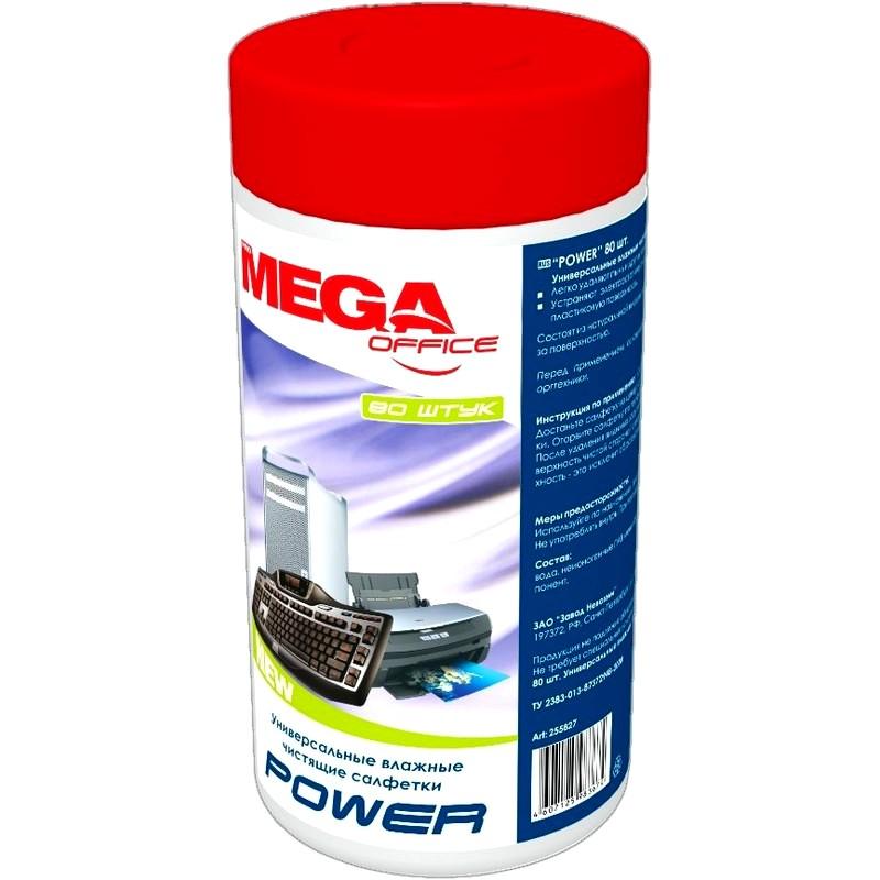 Салфетки для чистки поверхностей, влажные ProMega Office «Power» в тубе 100 шт. купить: цена на ugra.ru