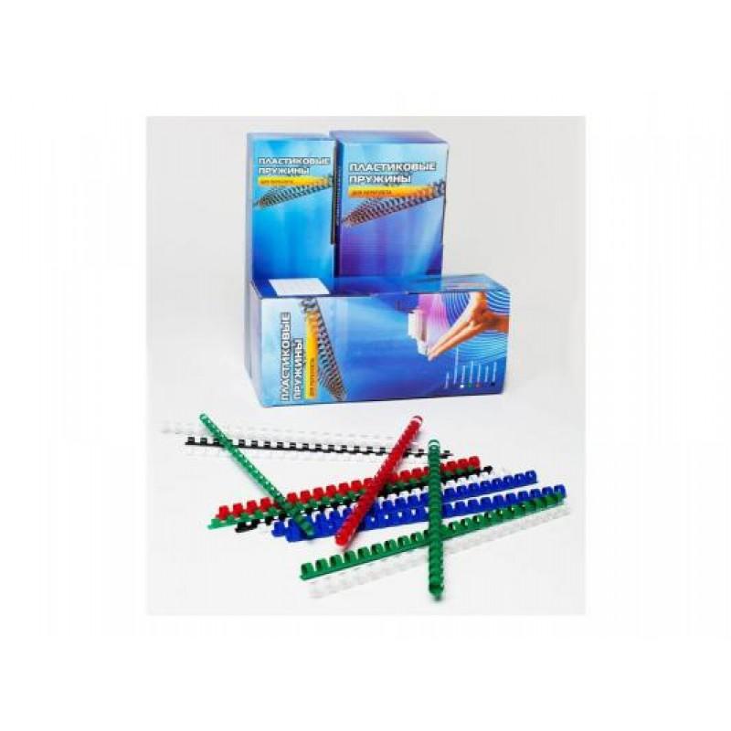 Пружины для брошюратора металлические D14.3 мм (9/16) синие 100 шт.: купить по выгодной цене | Интернет-магазин ugra.ru