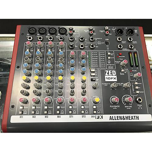 Allen & Heath ZED60-14FX, купить аналоговый микшерный пульт Allen & Heath ZED60-14FX