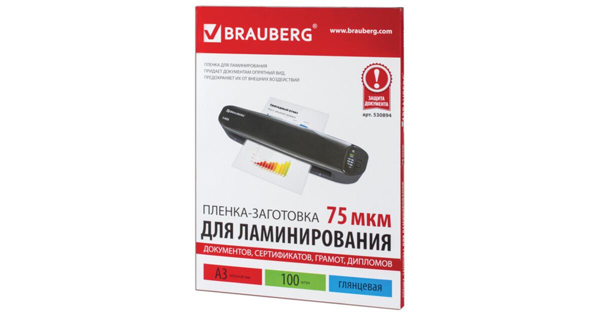 Купить Пленки-заготовки для ламинирования АНТИСТАТИК BRAUBERG 531796 – цена на сайте интернет-магазина ugra.ru Технические характеристики, отзывы, доставка.