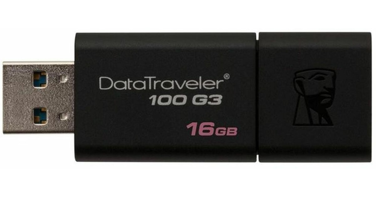USB-накопитель DataTraveler 100 G3 - 8ГБ-128ГБ | Kingston