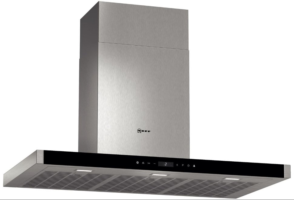 Buy NEFF D86DK62N0B Chimney Cooker Hood - Stainless Steel   Free Delivery   Currys