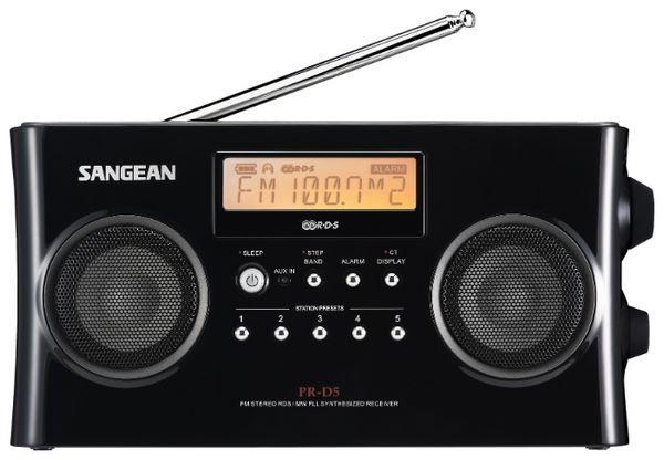 Sangean PR-D4W AM/FM/Weather Band Radio   radiojayallen