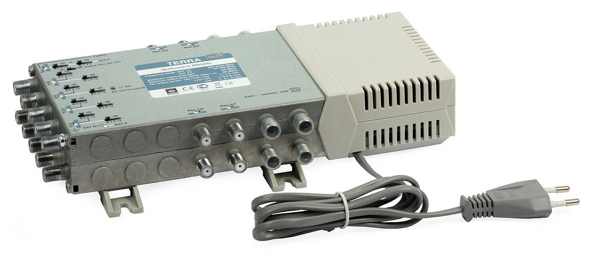5/16 Multiswitch: Terra MR-516 (active terrestrial path, class A)