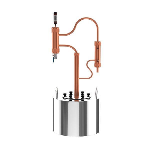 "Ректификационная колонна ""Cuprum & Steel"" ROCKET 35 ⋆ Самогоноград"