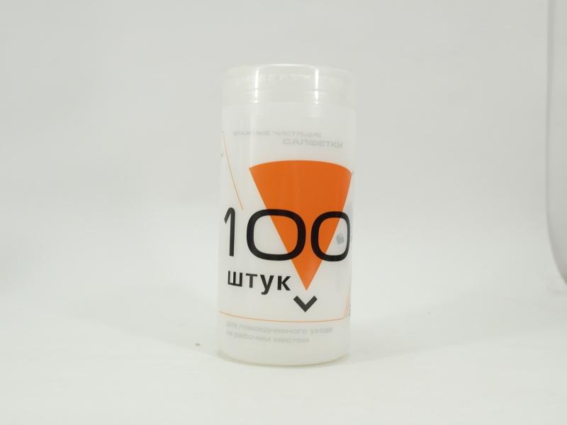 Купить в Архангельске - Салфетки Konoos KBU-100 Салфетки для комп. техники в банке, 100 шт.