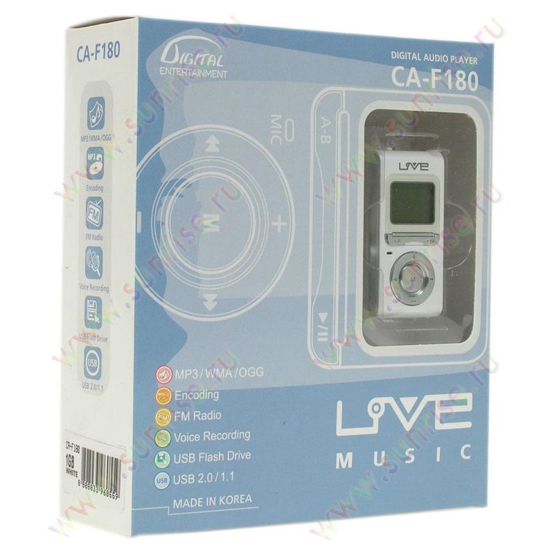 Flash MP3-плеер – смTECH Live Music CA-F200 / Звук и акустика