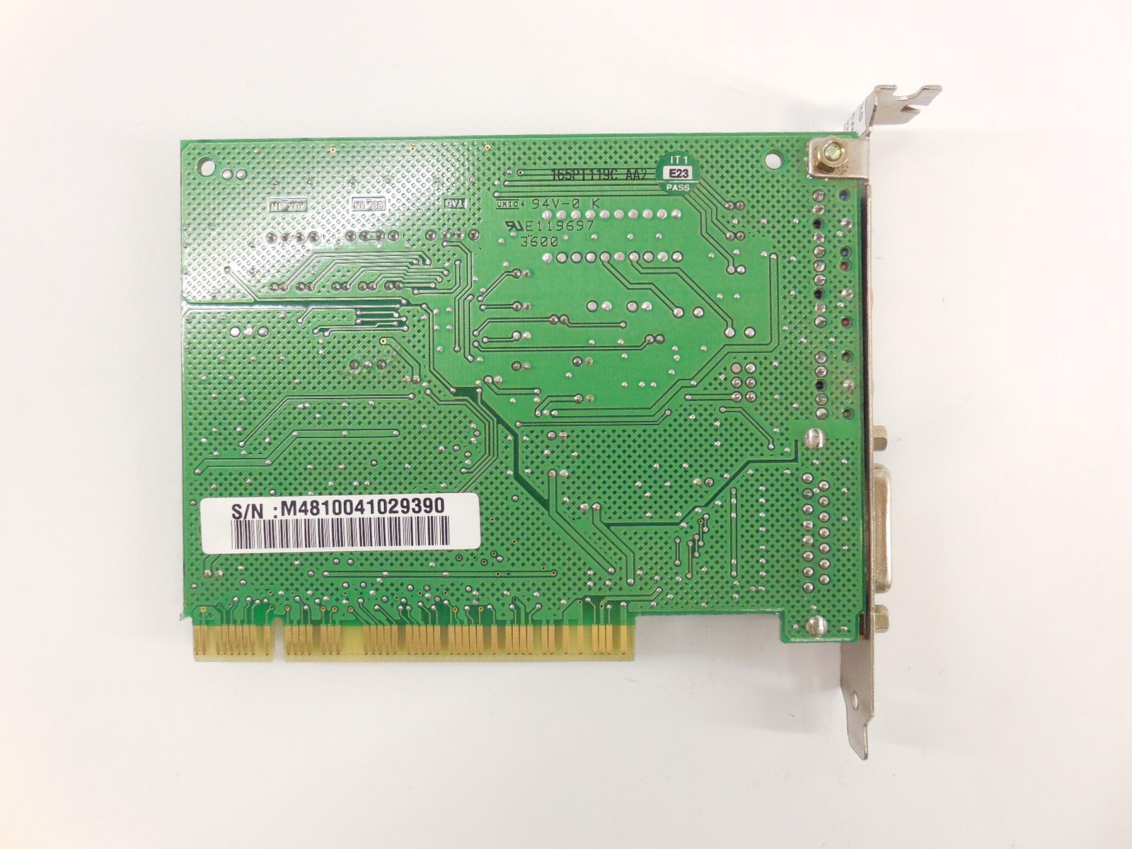 Creative Sound Blaster PCI 128, CT4700 « Музей мультимедийного IBM PC-совместимого железа