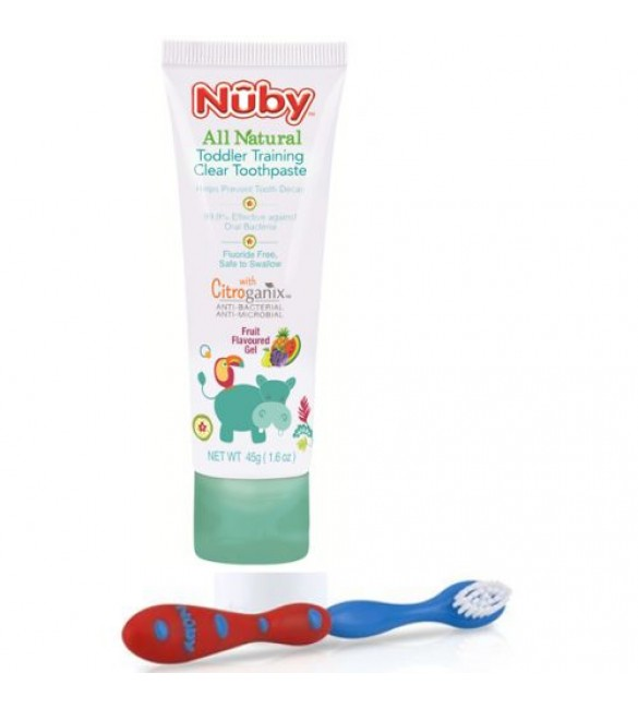 3 Ways The Nuk Brush Helps With Oral Motor Therapy For Children With Down Syndrome.