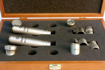 Микрофоны конденсаторные студийные - Октава МК-102