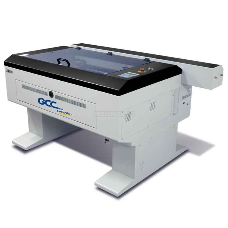 Купить Лазерный гравер-раскройщик GCC LaserPro T500 200W. Производительность гравировки 864,2 см2/час, скорость резки до 1 м/с, отпаянный СО2 лазер RofinSynar, ширина рабочего поля 1300 х 916 мм, разрешение до 1500 точек на дюйм, интерфейс стандартный порт для принтера и USB-порт. в интернет-магазине OfiTrade