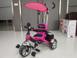 Детский трехколесный велосипед Rich Toys Lexus Trike VIP с надувными колесами - YouTube