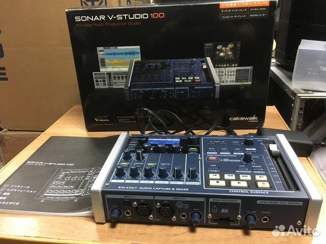V-Studio 100 комплекс звукорежиссера   ugra.ru