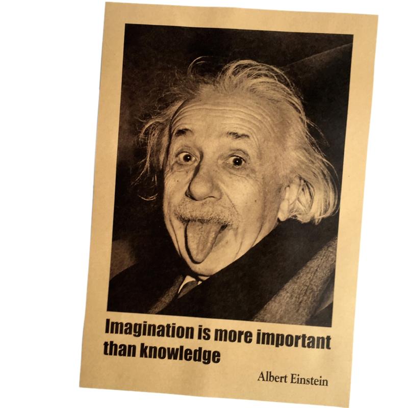 это эйнштейн альберт постер несложный, красивый очень