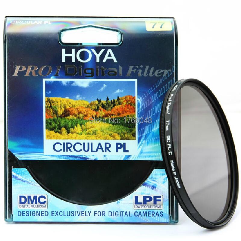 Hoya 58mm Pro-1 Digital Circular Polarizing Screw-in Filter Black