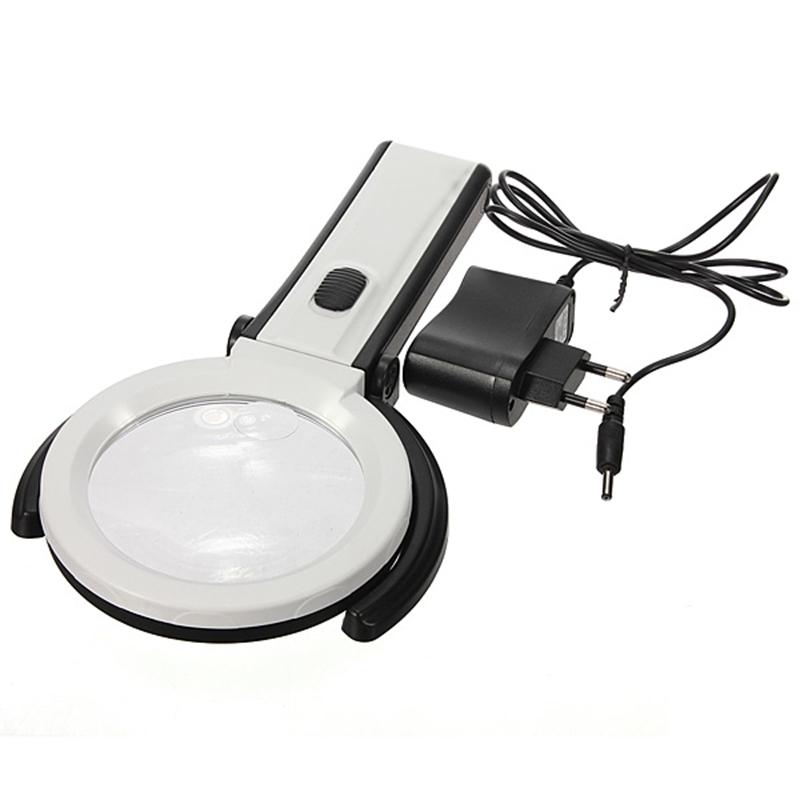 Лупа Kromatech настольная 2x/6x, 24/107 мм, на гибком штативе с подсветкой (2 LED) MG5B-4 (3223354) - Купить по цене от 961.00 руб.   Интернет магазин ugra.ru