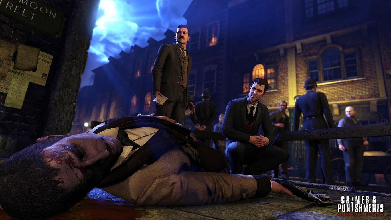 Sherlock Holmes: Zbrodnia i kara (Video Game 2014) - IMDb