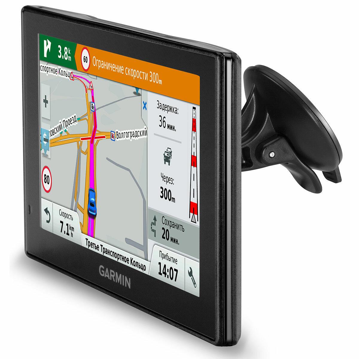 Тест навигатора Garmin DriveSmart 60 RUS LMT — Garmin Drive™ на DRIVE2