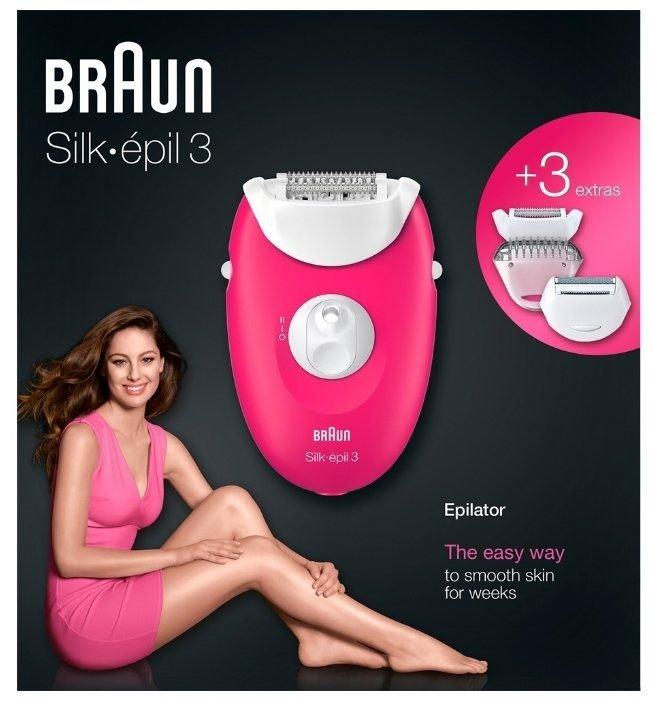 Обзор на Эпилятор Braun 3420 Silk-epil 3 Legs & body