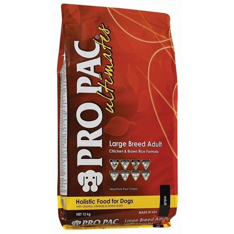 ugra.ru: Pro Pac Ultimates Puppy Chicken Meal And Brown Rice Dry Dog Food, 28 Lb.: Pet Supplies