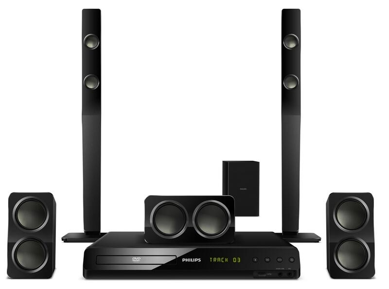 5.1 Home theater HTS3051B/F7   Philips