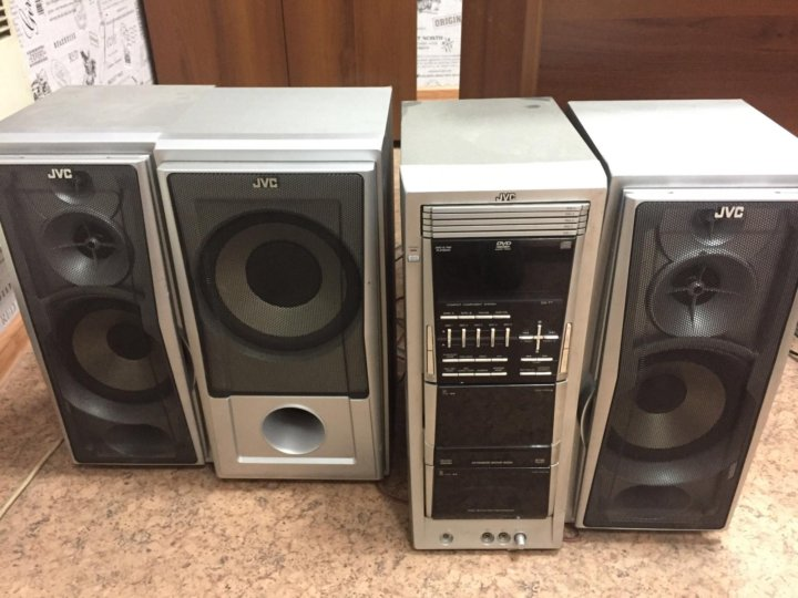 Музыкальный центр JVC NX-D5EE купить в интернет-магазине