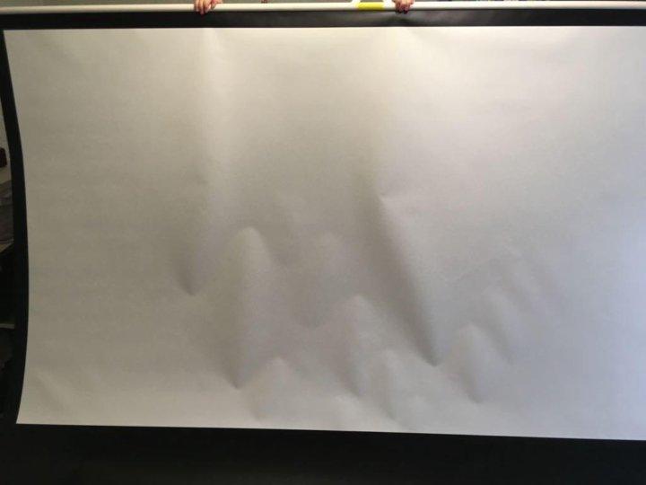 Купить экран для проектора ViewScreen Scroll (4:3) 203*153 (197*147) MW в каталоге интернет магазина BIGtv по низкой цене с доставкой и самовывозом, отзывы, фотографии - Москва