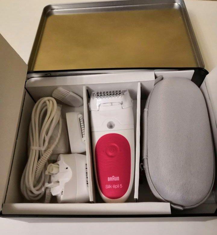 Эпилятор Braun 5-547 Legs & body (белый/розовый) купить за 4290 руб в Москве, отзывы, видео обзоры и характеристики