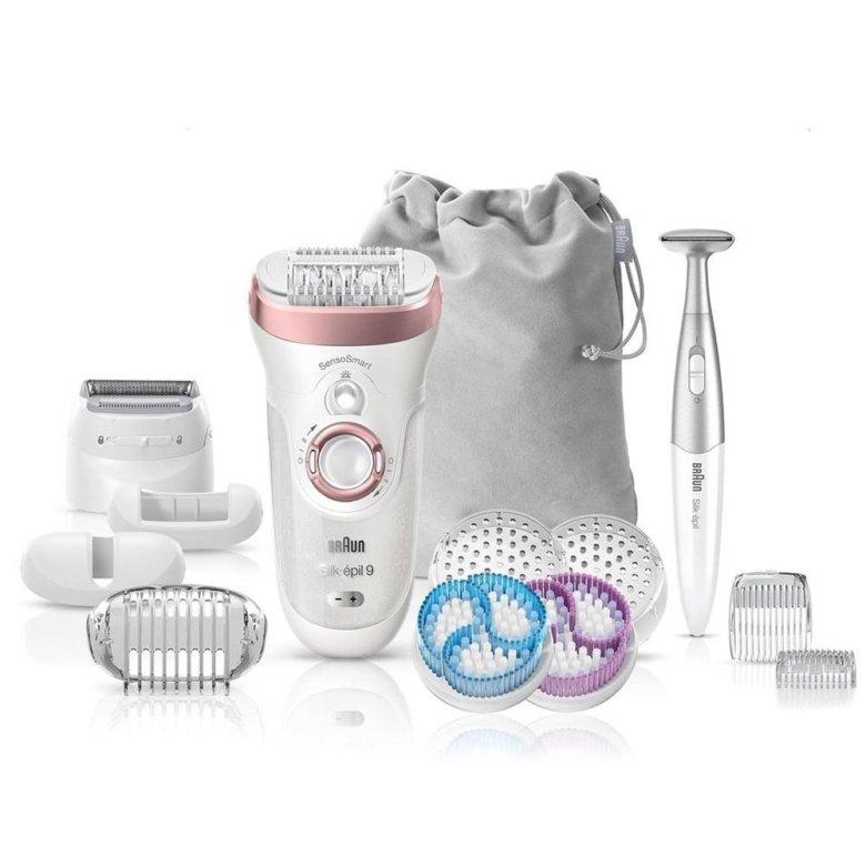 Электрический эпилятор 9-567 Silk-epil 9 Legs, body & face Braun 6499029 в интернет-магазине ugra.ru