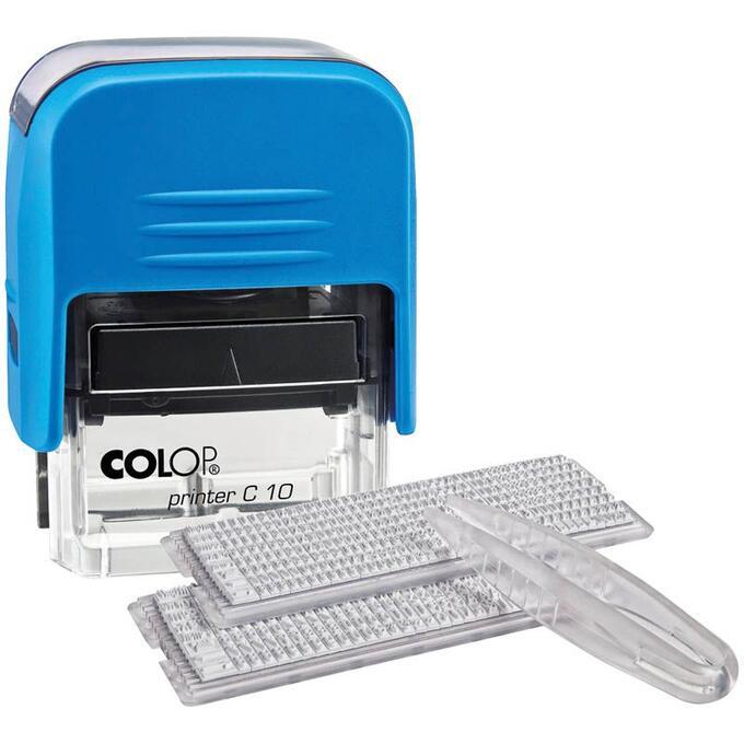 Colop штамп самонаборный двухстрочный printer 15 set купить в интернет магазине 👍