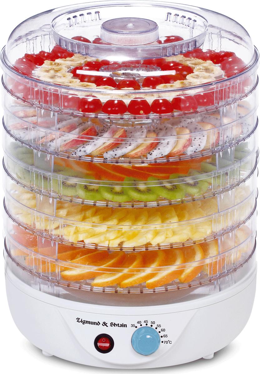 Сушилка для овощей и фруктов Zigmund & Shtain ZFD-400, 500 Вт, 5 секций (2927331) - Купить по цене от 3383.00 руб. | Интернет магазин ugra.ru