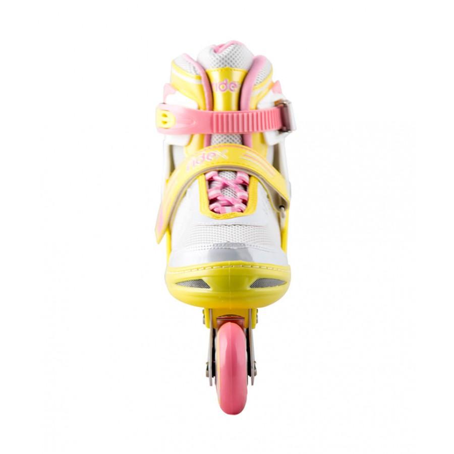Роликовые коньки детские раздвижные Ridex Swift Lime – Цена в интернет магазине Cenomaniya