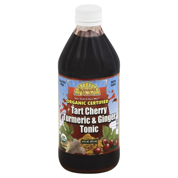 Tart Cherry Turmeric & Ginger Tonic Dynamic Health 16oz | eBay