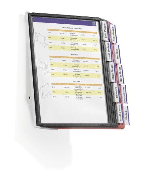 Настенная демосистема DURABLE Sherpa 5810 формат А4 5 панелей онлайн заказ купить товар низкая цена с доставкой по России   Омилик