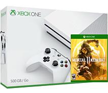 Купить Игровая консоль Xbox One Microsoft S 500 GB белая + Shadow of War в каталоге интернет магазина ugra.ru по выгодной цене с доставкой, отзывы, фотографии - Москва