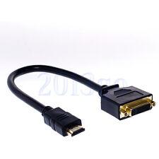 Кабель штекер HDMI V1.3 - штекер DVI-D Single Link, GOLD, 2 м купить в интернет магазине ugra.ru в Санкт-Петербурге - Кабель штекер HDMI V1.3 - штекер DVI-D Single Link, GOLD, 2 м