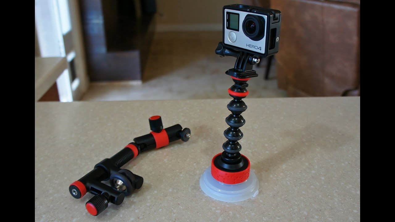 Joby Suction Cup and Locking Arm/ GorillaPod Arm review – The Paddler ezine