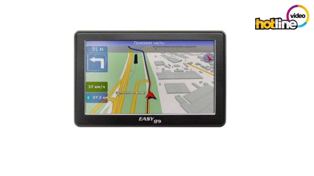 GPS навигатор EasyGo 100: 350 грн. - GPS-навигаторы / авторегистраторы Одесса на Olx