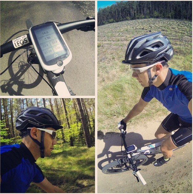 Mio Cyclo 505 HC Track Navigation - YouTube