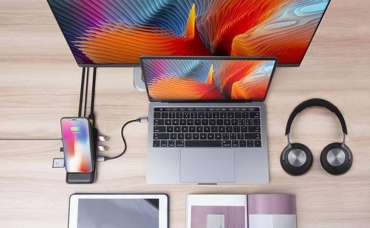 Беспроводная зарядка и док-станция HyperDrive USB-C Hub + 7.5W Qi Wireless Charger iPhone Stand – купить в интернет-магазине в Санкт-Петербурге