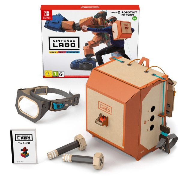 Nintendo Labo - Toy-Con 02: Robot Kit - YouTube